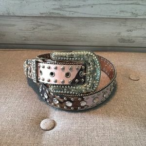 Blazin Roxx pink camo belt